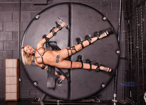photographer Porlus Maelstrom bdsm modelling photo with Not on AdultFolio. alexa rose all tied up with nowhere to go.