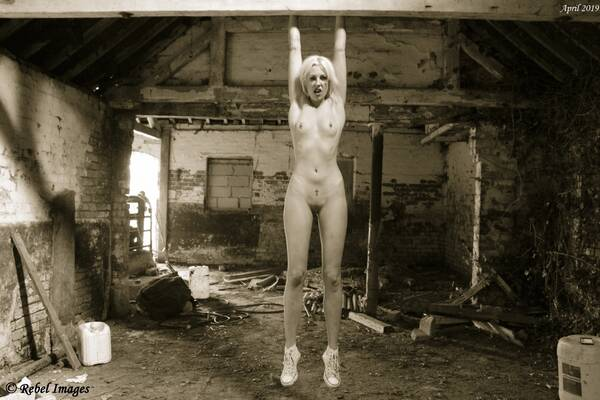 photographer RebelImages art nude modelling photo. left to hang.