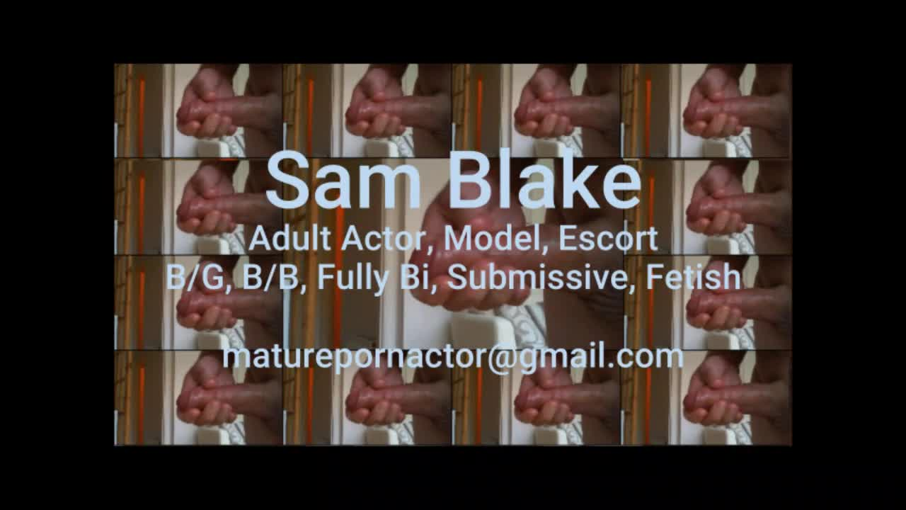 model Sam Blake handjob modelling photo